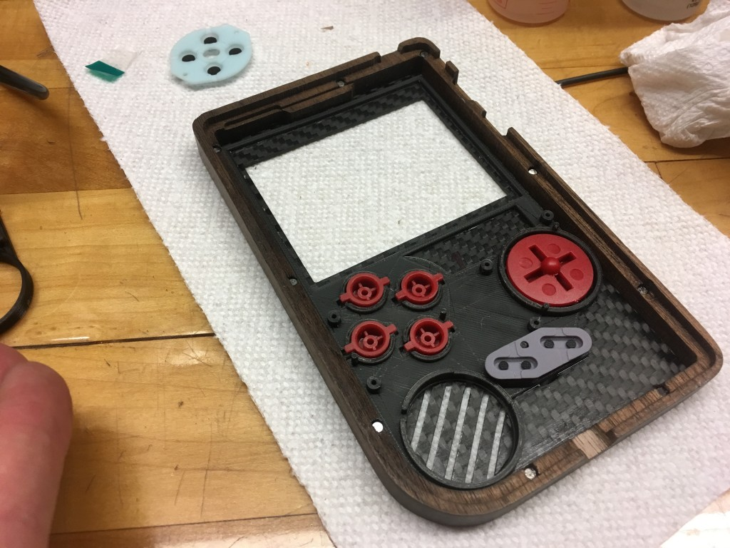 Raspberry Piboy Building A Handheld Gaming System From Walnut And Conductive Pen Gadgets Other Electronics Ebay I